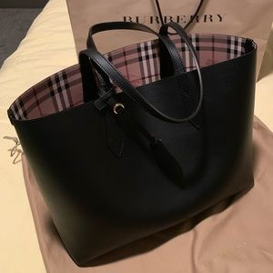 Reversible Burberry Tote